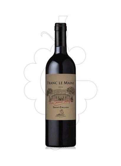 Foto Ch franc maine s/soufre ng 16 vino tinto