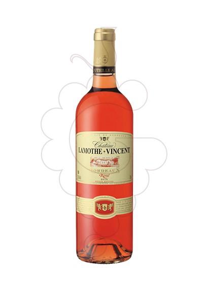 Foto Ch Lamothe-Vincent Rosado vino rosado
