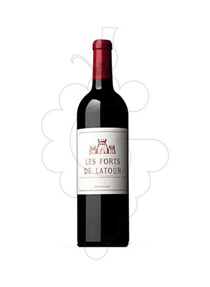Foto Ch. Les Forts de Latour vino tinto