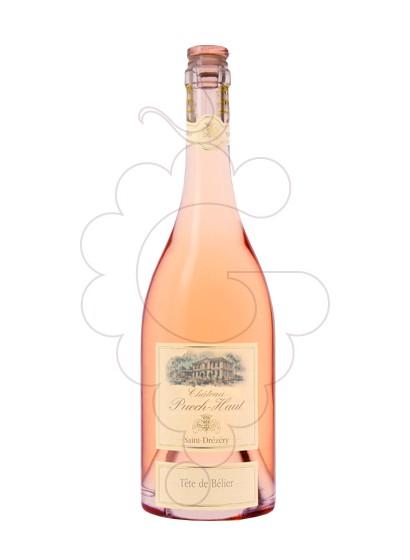 Foto Chateau Puech-Haut Tête de Bélier Rosado vino rosado