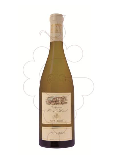 Foto Chateau Puech-Haut Tête de Bélier Blanco vino blanco