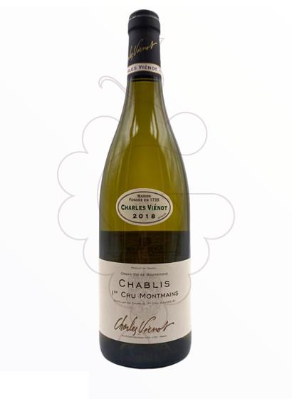 Foto Charles Vienot Chablis 1er Cru Montmains vino blanco