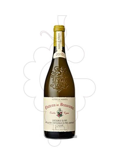 Foto Chateau Beaucastel Blanco vino blanco