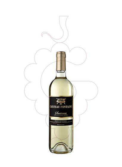Foto Château Fontaine Sauternes (mini) vino generoso
