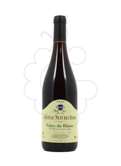 Foto Chateau Nuit des Dames Côtes du Rhône vino tinto