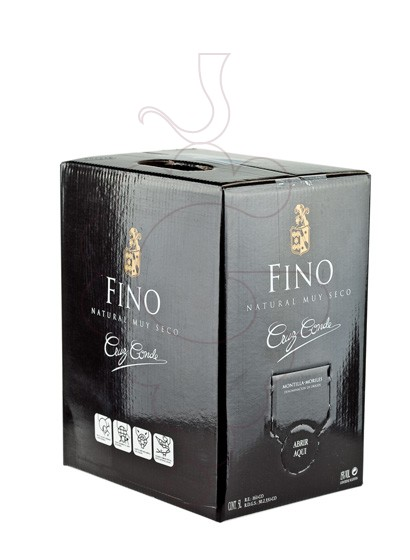 Foto Cruz Conde Fino Bag in Box vino generoso