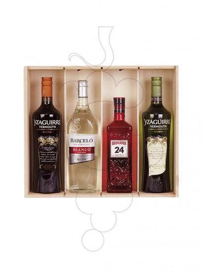 Foto Cajas Navidad Pack 2 Botellas de Vino + Cava