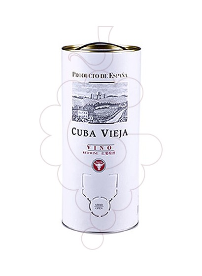 Foto Cuba Vieja Bag in Box vino tinto