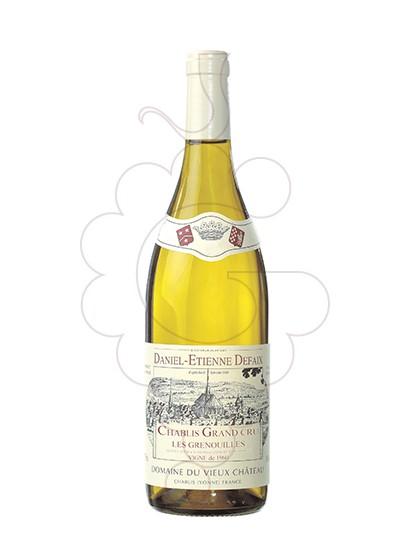 Foto Daniel-Etienne Defaix Chablis Grand Cru Grenouilles vino blanco