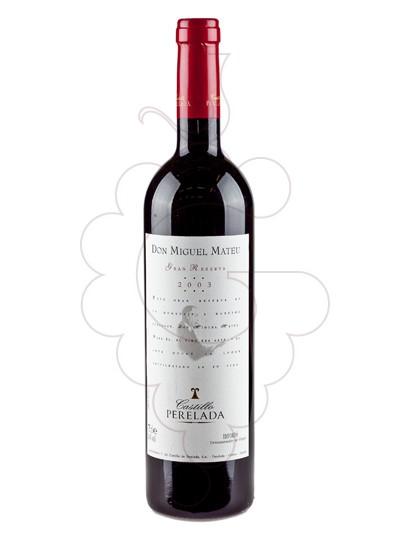 Foto Don Miguel Mateu Reserva Especial vino tinto