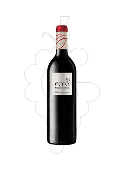 Foto Ecco Marques de Vitoria  vino tinto