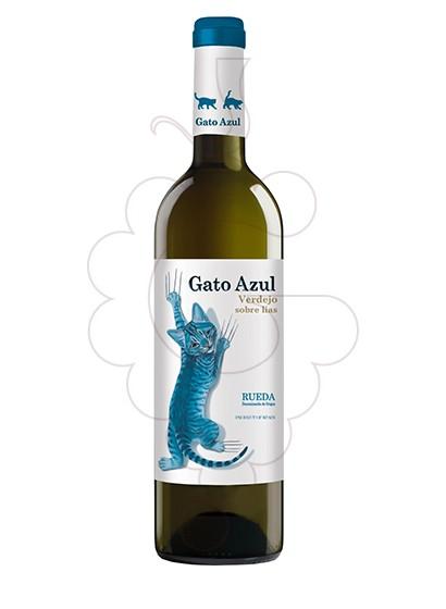 Foto El Gato Azul vino blanco