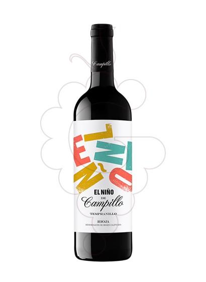 Foto El Niño de Campillo  vino tinto