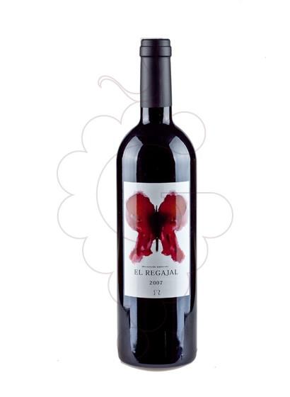 Foto El Regajal vino tinto