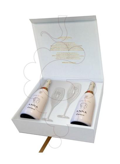 Foto Anna de Codorniu Blanc de Blancs Pack (2 u + 2 copas) vino espumoso
