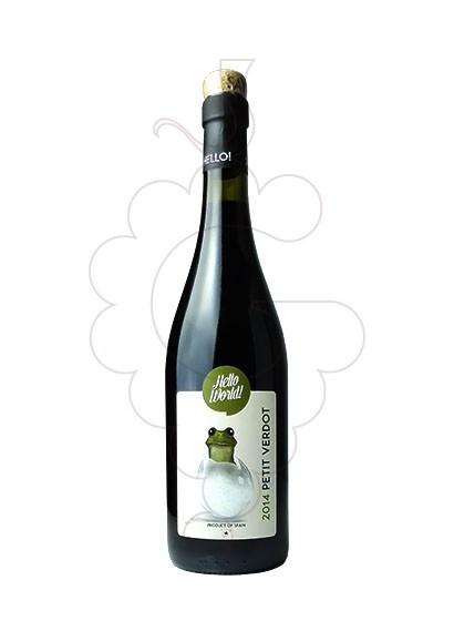 Foto Hello World Petit Verdot vino tinto