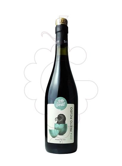 Foto Hello World Prieto Picudo vino tinto