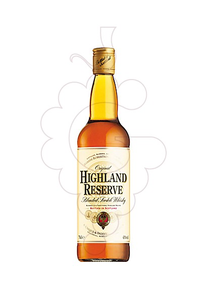 Foto Whisky Highland Reserve