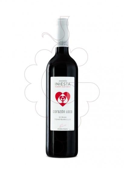 Foto Iniesta Corazon Loco Tinto vino tinto