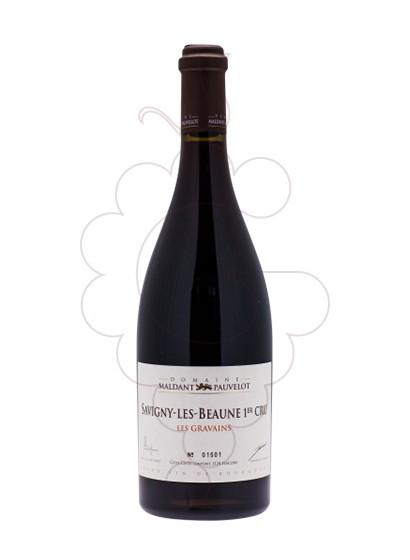 Foto Maldant Savigny-lès-Beaune Les Gravains vino tinto