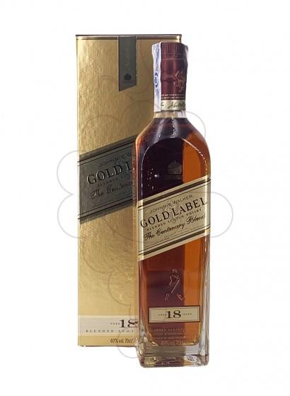 Foto Whisky Johnnie Walker Gold Label 18 Años