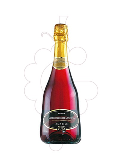 Lambrusco Galla Bellavita Rosat Amabile