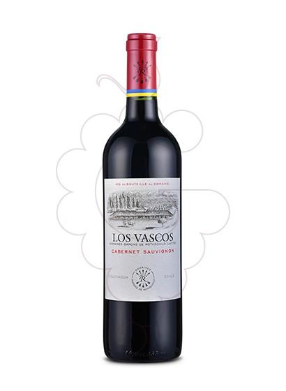 Foto Los Vascos Cabernet Sauvignon vino tinto