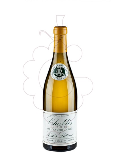 Foto Louis Latour Chablis Chanfleure vino blanco