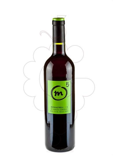 Foto M 5 Monastrell vino tinto