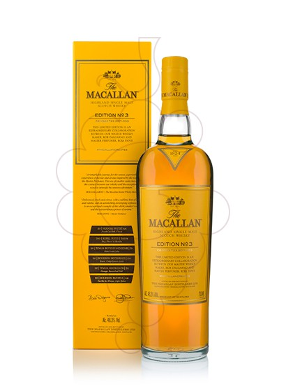 Foto Whisky Macallan Edition Nº 3