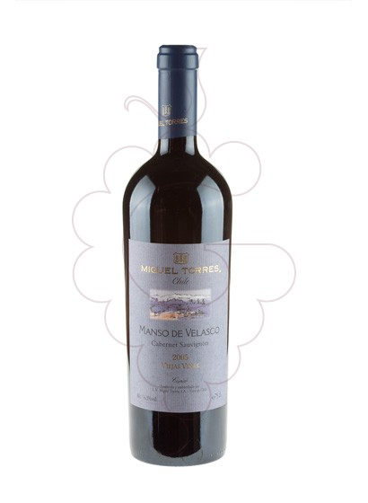 Foto Manso de Velasco Negre vino tinto
