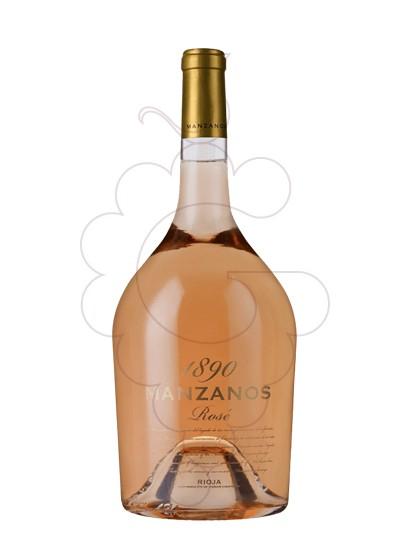 Foto Manzanos 1890 Rosado Magnum vino rosado