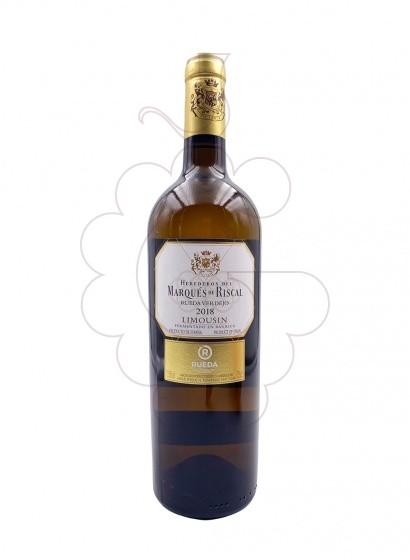 Foto Marques de Riscal Limousin vino blanco
