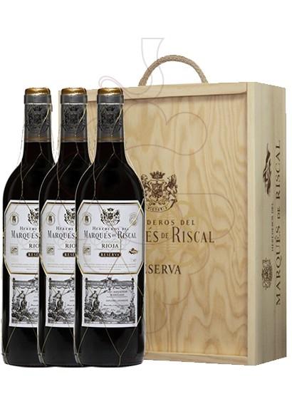 Foto Cajas regalo Marques de Riscal Reserva (pack fusta 3 u.)
