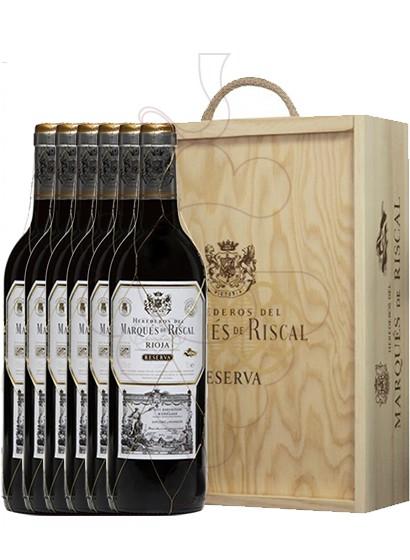 Foto Cajas regalo Marques de Riscal Reserva (pack fusta 6 u.)