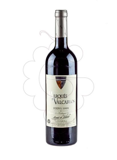Foto Marques de Valcarlos Reserva vino tinto