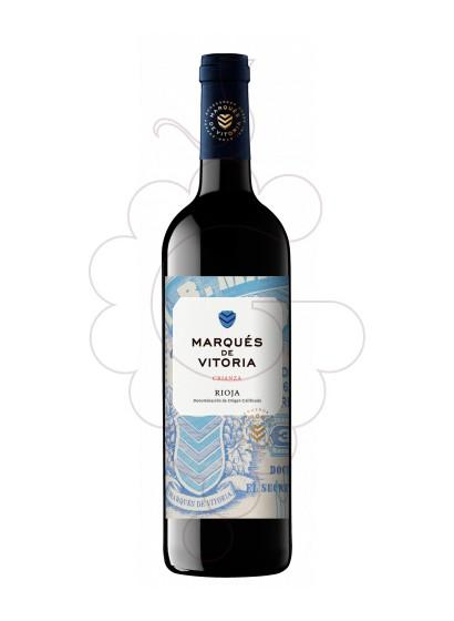 Foto Marques de Vitoria Crianza vino tinto