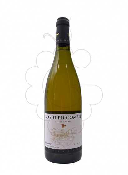 Foto Mas d'en Compte Blanc vino blanco