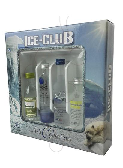Foto Vodka Minipack Ice-Club Vodka 4 u