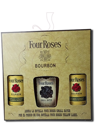 Foto Whisky Four Roses Pack (2 u + 1  Small Batch)