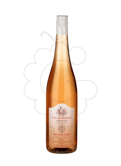 Foto Mont Le Vieux Oeil-de-Perdrix vino rosado