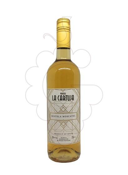 Foto Moscatel la Cartuja vino generoso