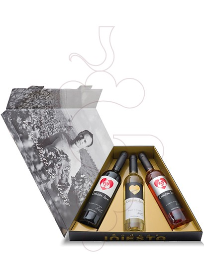 Foto Cajas regalo Pack Bodega Iniesta Triangulo