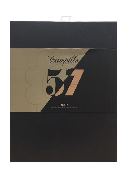 Foto Cajas regalo Campillo 57 Gran Reserva Pack 3 u