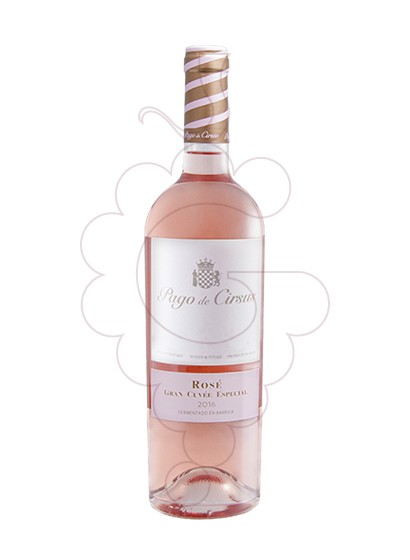 Foto Pago de Cirsus Rosé Gran Cuvee Especial vino rosado