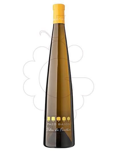 Foto Albariño Pazo Baión Vides de Fontán vino blanco