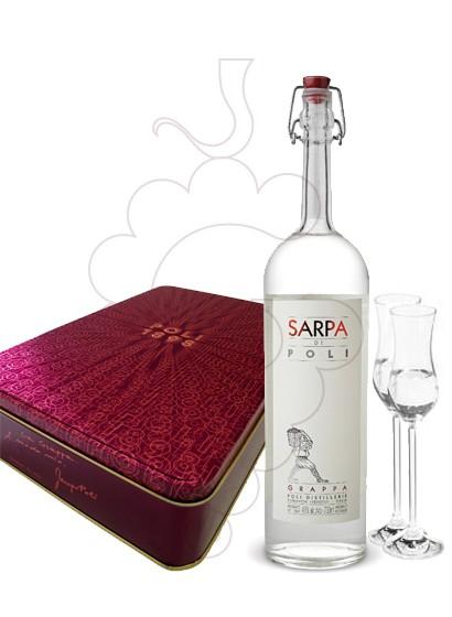 Foto Grappa Poli Sarpa Pack (1 u + 2 copas)