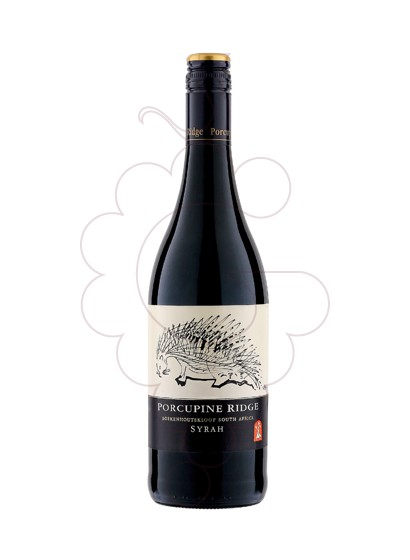 Foto Boekenhoutskloof Porcupine Ridge Shiraz vino tinto