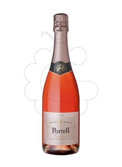 Foto Portell Rosat Brut vino espumoso