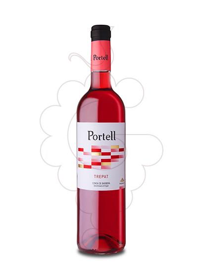 Foto Portell Rosat Trepat vino rosado